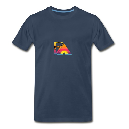 Beach theme - Men's Premium T-Shirt