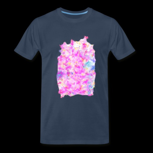 Pink pattern - Men's Premium T-Shirt