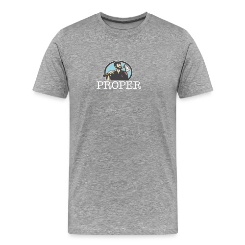 properlumberjack - Men's Premium T-Shirt
