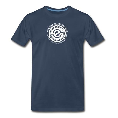 45 Insert SE Logo Greczilla White png - Men's Premium T-Shirt