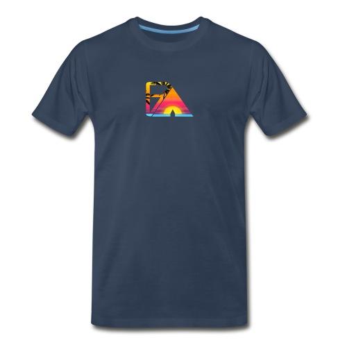 Beach theme - Men's Premium T-Shirt