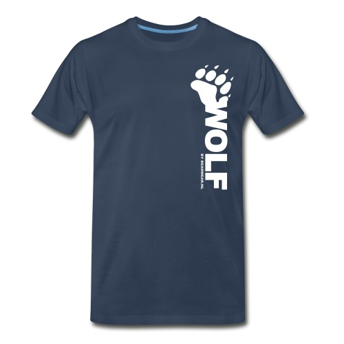 wolf by bearwear new - Men's Premium T-Shirt