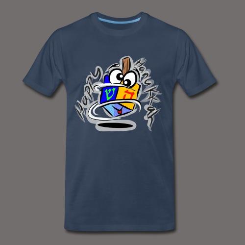 Happy Hanukkah - Men's Premium T-Shirt