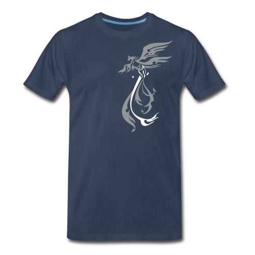 simorgh2colors - Men's Premium T-Shirt