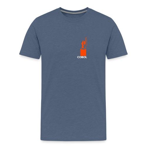 COBOL up (W) - Men's Premium T-Shirt