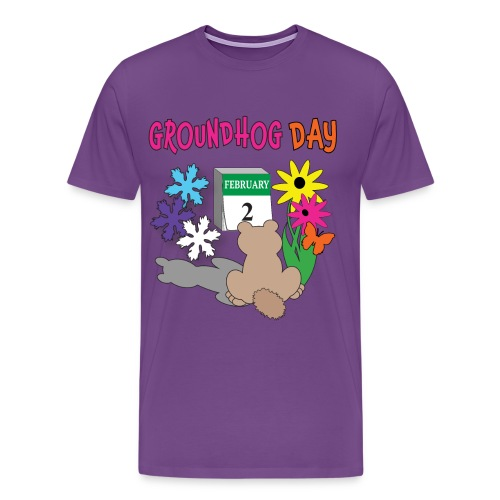 Groundhog Day Dilemma - Men's Premium T-Shirt