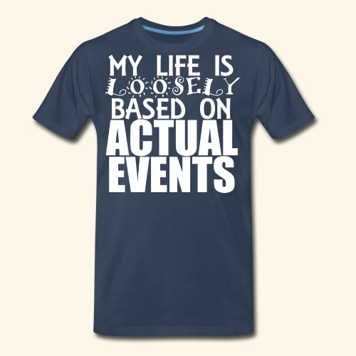 loosely based - Men's Premium T-Shirt