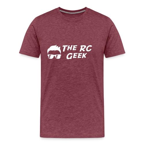 TRCG Logo-2 white - Men's Premium T-Shirt