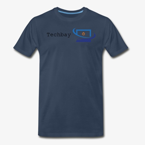 Techbay full logo - Men's Premium T-Shirt