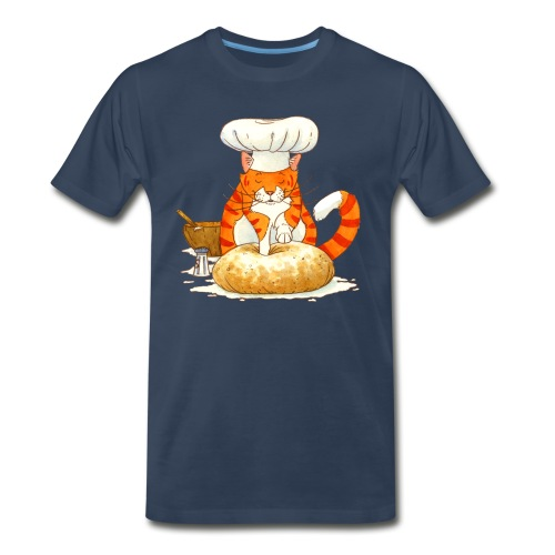 Chef Cat by Rachael B - Men's Premium T-Shirt