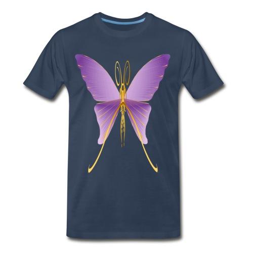 One Big Purple Butterfly - Men's Premium T-Shirt
