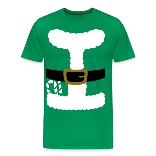 SANTA CLAUS SUIT - Men's Polo Shirt - Men's Premium T-Shirt
