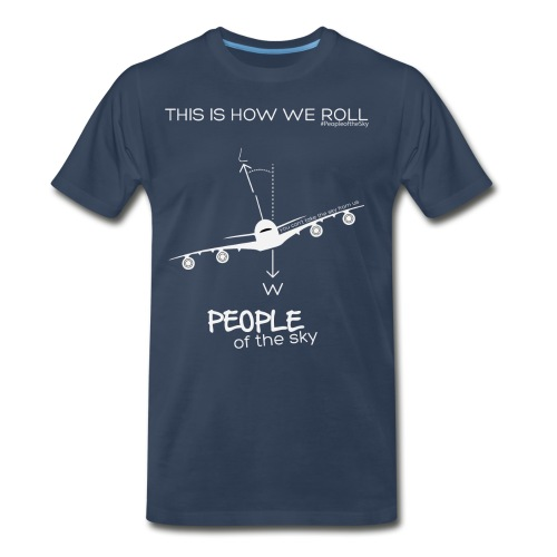 This is how we roll A380 - Men's Premium T-Shirt