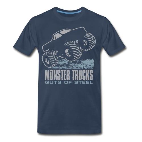 Monster Truck Guts - Men's Premium T-Shirt