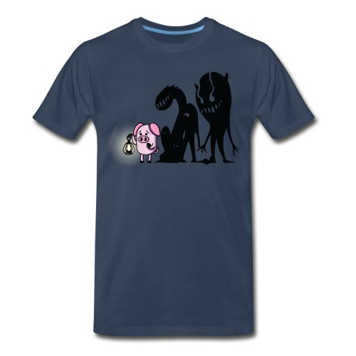 Slapped Ham The Darkness - Men's Premium T-Shirt