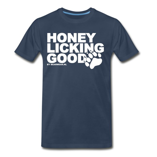 honey licking