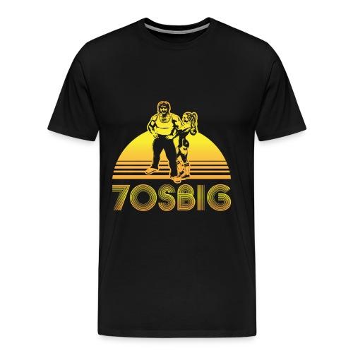 throwback front - Men's Premium T-Shirt