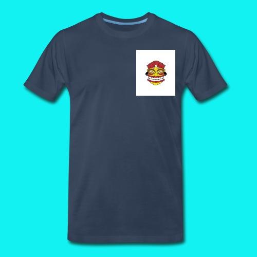 tiki2 png - Men's Premium T-Shirt