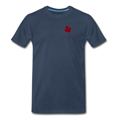 Red Leaf Clover - Men's Premium T-Shirt