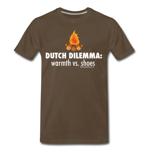 06 Dutch Dilemma white lettering - Men's Premium T-Shirt