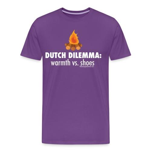 06 Dutch Dilemma white lettering - Men's Premium T-Shirt