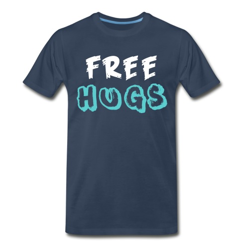 FREE + HUGS - Men's Premium T-Shirt