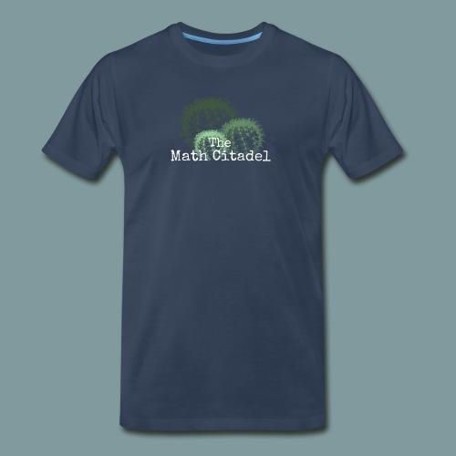 Math Citadel Cactus Trio - Men's Premium T-Shirt