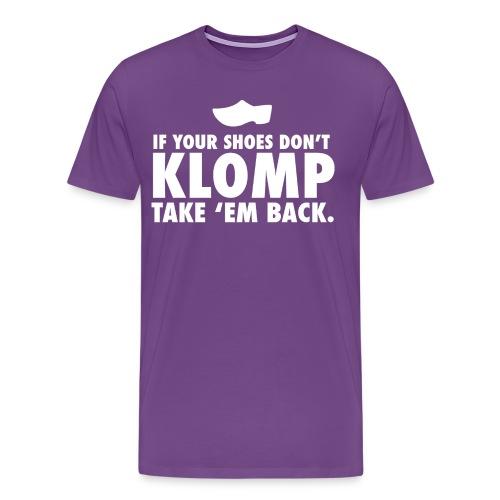 08 Klomp white lettering - Men's Premium T-Shirt