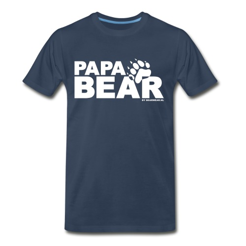papa bear new - Men's Premium T-Shirt