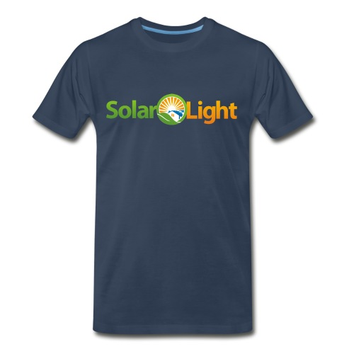 Solar Light Logo only - Men's Premium T-Shirt