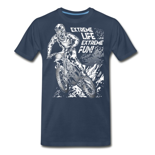 Motocross Extreme Fun - Men's Premium T-Shirt