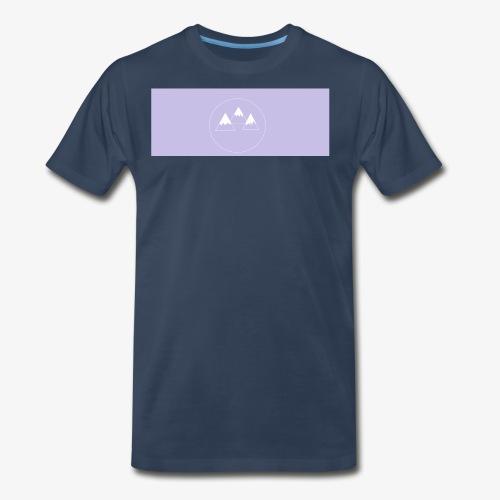 mountians shirt design - Men's Premium T-Shirt