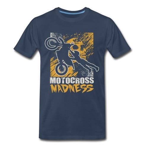 Motocross Madness - Men's Premium T-Shirt