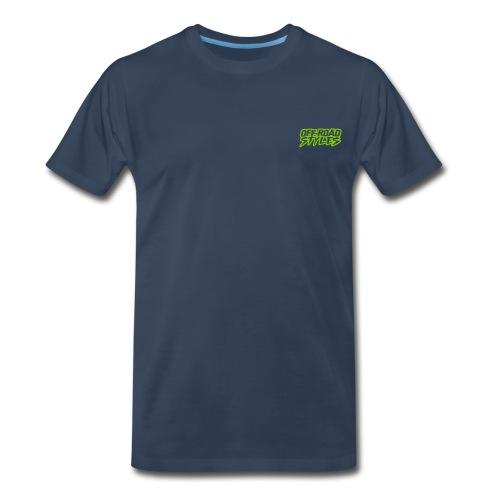 Dirt Bike Throttle Out T-Shirts - Men's Premium T-Shirt