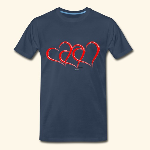 3hrts - Men's Premium T-Shirt