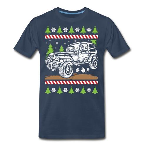 Ugly Christmas Jeeper - Men's Premium T-Shirt