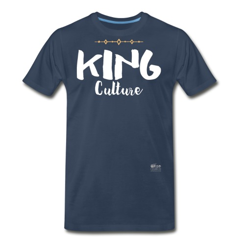 King Culture Script - Men's Premium T-Shirt