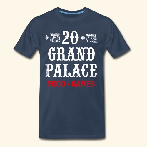 20 Grand Palace (neg.) - Men's Premium T-Shirt