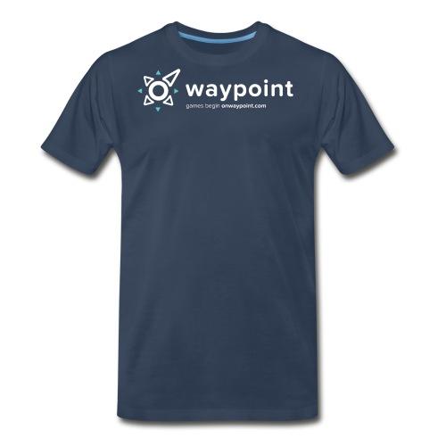 Waypoint Logo (Light Version) - Men's Premium T-Shirt