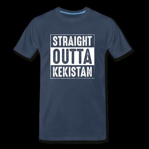 Straight Outta Kekistan - Men's Premium T-Shirt