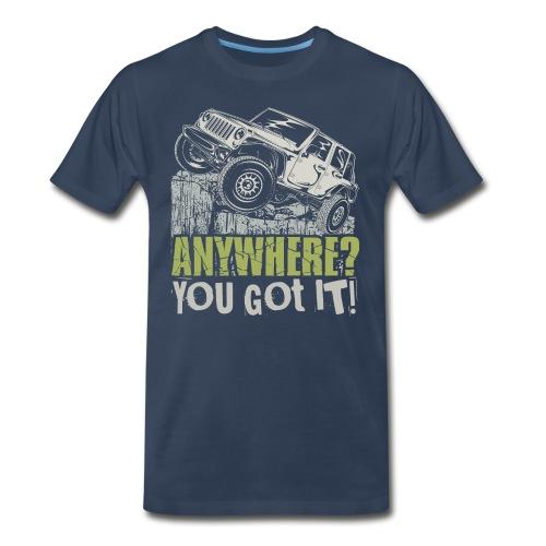 Jeep Anywhere - Men's Premium T-Shirt