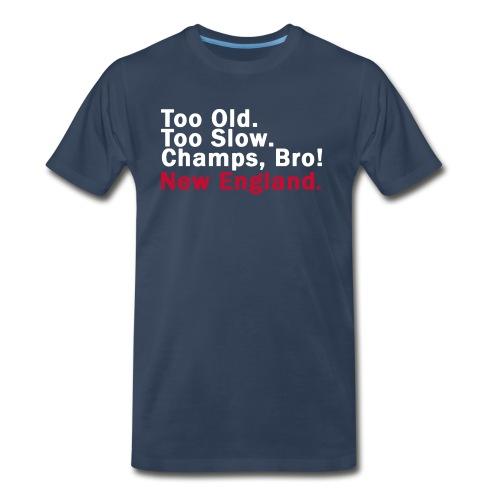 FOOTBALL: Champs, Bro! - Men's Premium T-Shirt