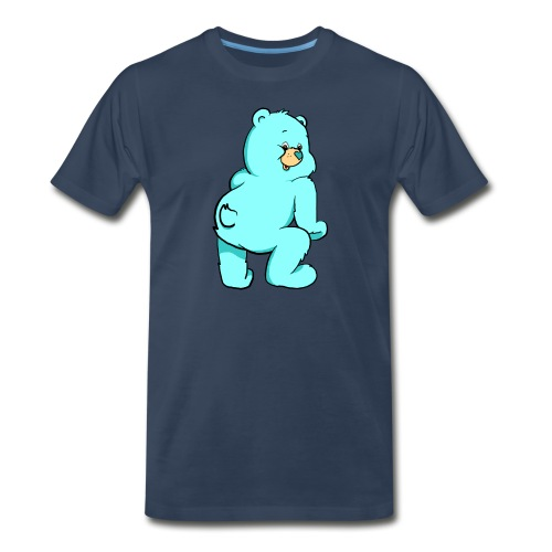blue twerk - Men's Premium T-Shirt