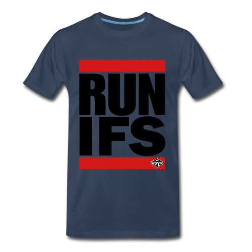 Run IFS - Men's Premium T-Shirt