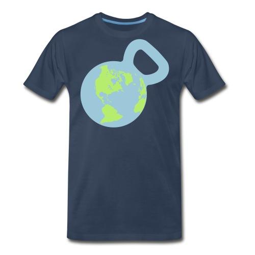 It's a Kettlebell World - Men's Premium T-Shirt