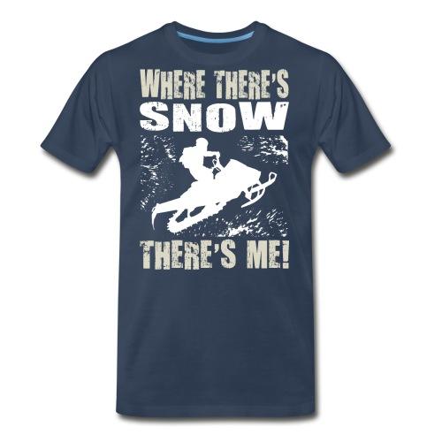 Snowmobile Snow Me - Men's Premium T-Shirt