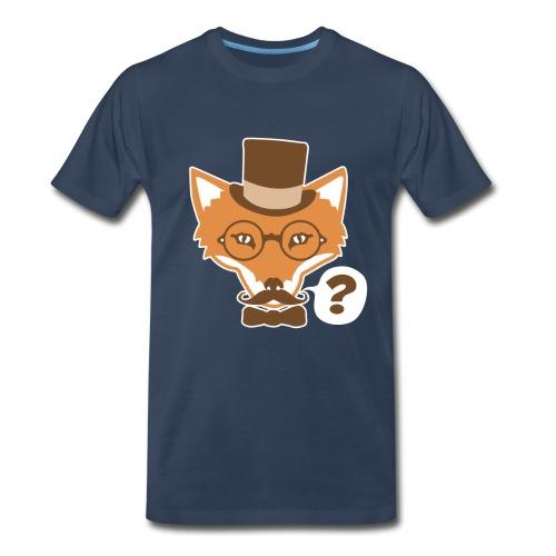 Fox Says What - Men's Premium T-Shirt
