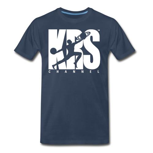 new krschannel logo white - Men's Premium T-Shirt