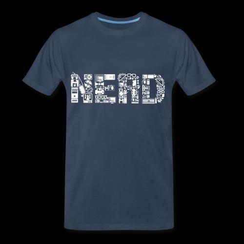 Nerd is the Word - Men's Premium T-Shirt