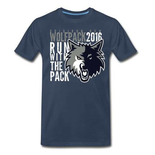 runblack - Men's Premium T-Shirt